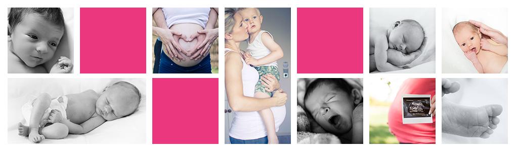 Shooting von Neugeborenen Babys, Maternity und Babybauch Fotos